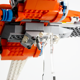 Display solutions for LEGO Star Wars: Poe Dameron's X-Wing Fighter (75273)