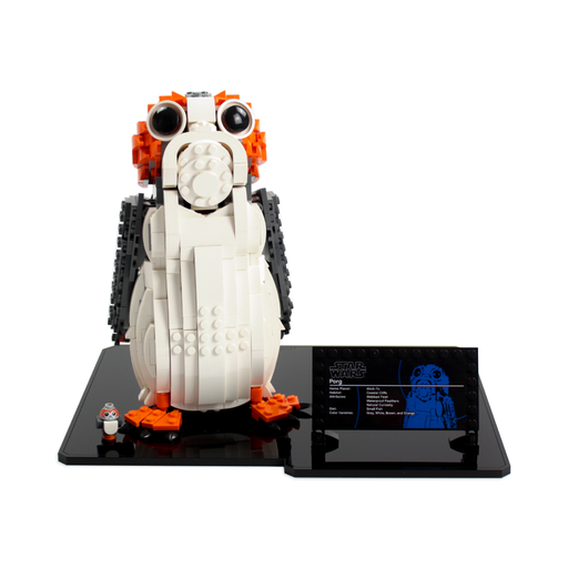 Display base for LEGO Star Wars: Porg (75230) - Wicked Brick