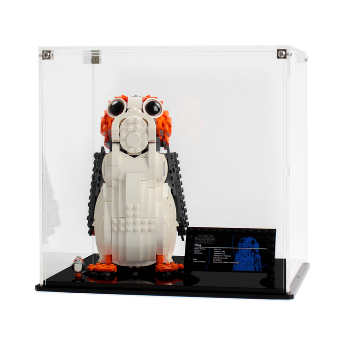 Display case for LEGO Star Wars: Porg (75230) - Wicked Brick