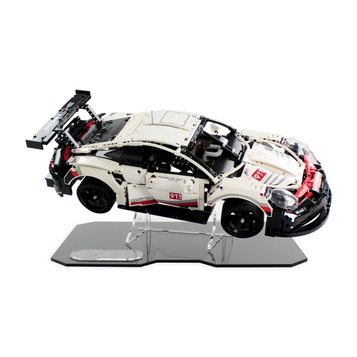 Display stand for LEGO Technic: Porsche 911 RSR (42096) - Wicked Brick