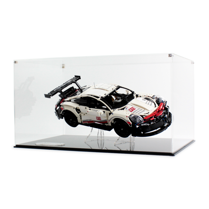 Display case for LEGO Technic: Porsche 911 RSR (42096) - Wicked Brick