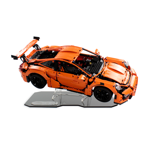 Display stand for LEGO Technic: Porsche 911 GT3 RS (42056) - Wicked Brick