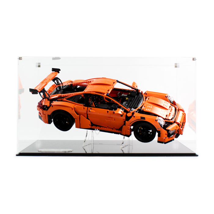 Display case for LEGO Technic: Porsche 911 GT3 RS (42056) - Wicked Brick