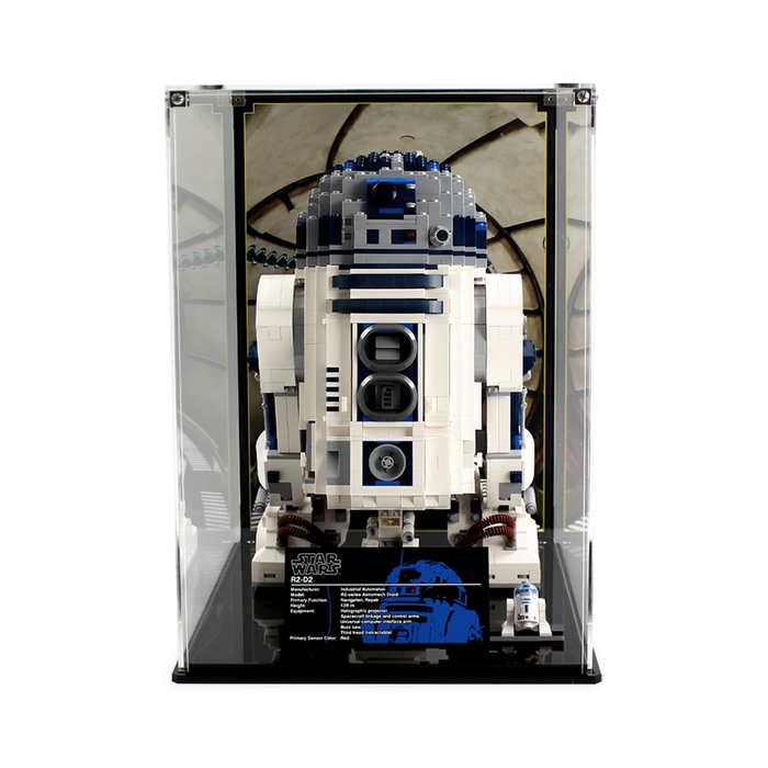 Display cases for LEGO Star Wars UCS: R2D2 (10225) - Wicked Brick