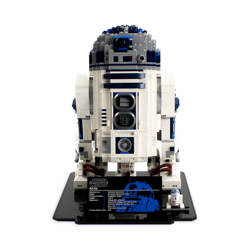 Display stand for LEGO Star Wars UCS: R2D2 (10225) - Wicked Brick