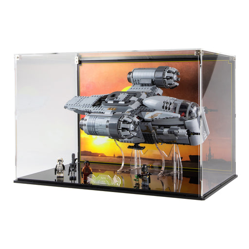 Display case for LEGO Star Wars: The Mandalorian Bounty Hunter Transport (75292)