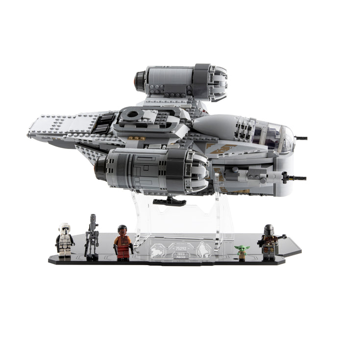 Display stand for LEGO Star Wars: The Mandalorian Bounty Hunter Transport (75292)