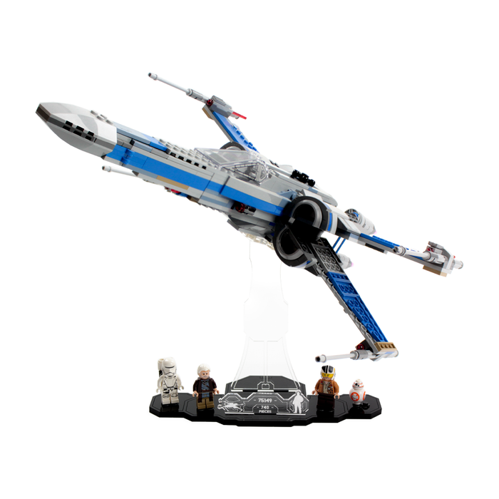 Display solutions for LEGO Star Wars: Resistance X-Wing (75149)