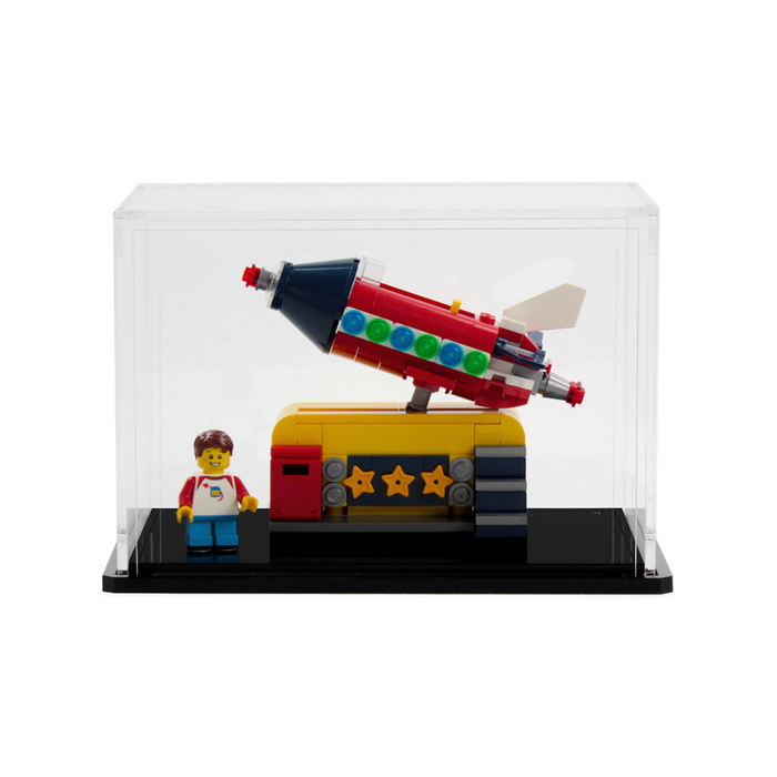 Display case for LEGO Ideas: Rocket Ride (40335)