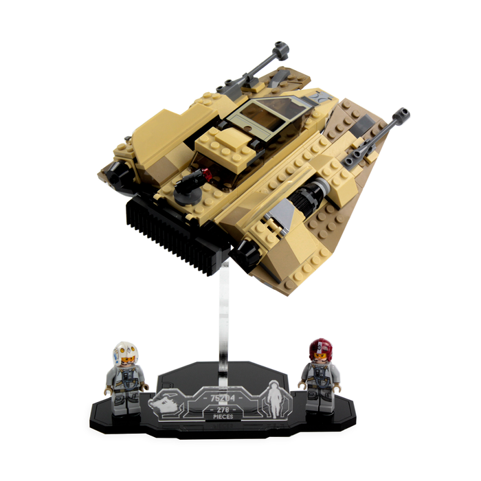 Display solutions for LEGO Star Wars: Sandspeeder (75204) - Wicked Brick