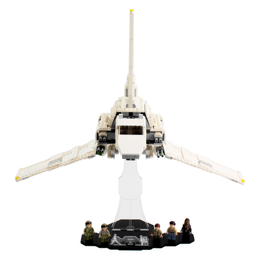 Display solutions for LEGO Star Wars: Tydirium (75094) - Wicked Brick