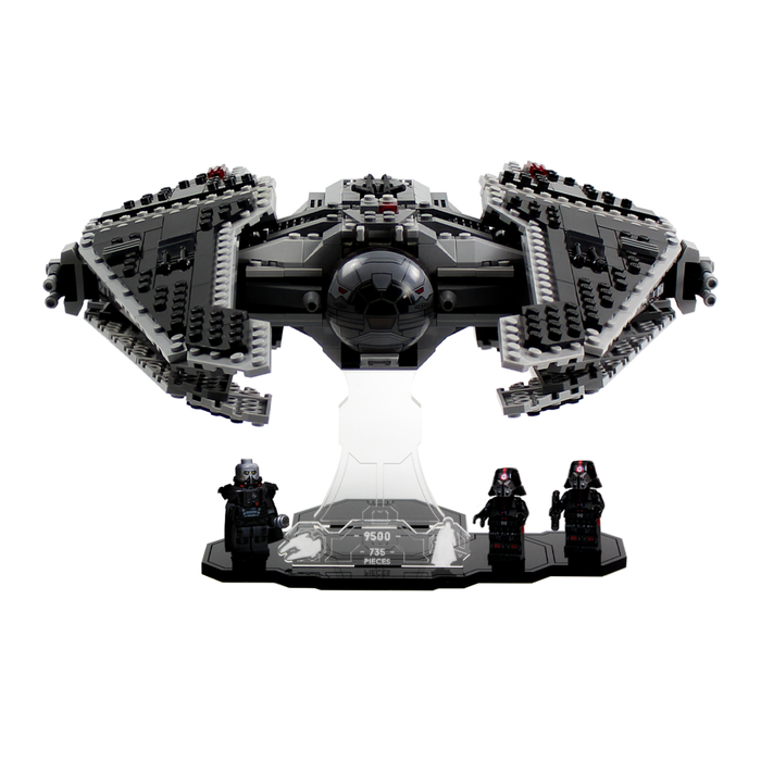 Display solutions for LEGO Star Wars: Sith Fury Class Interceptor (9500) - Wicked Brick