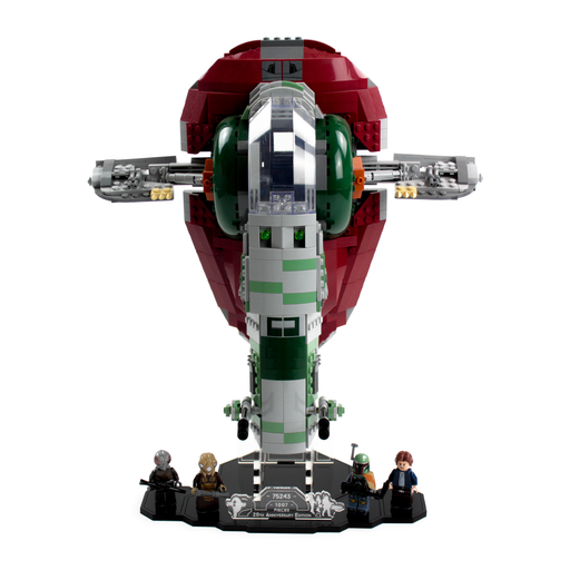 Display solutions for LEGO Star Wars: 20th Anniversary Slave I (75243) - Wicked Brick