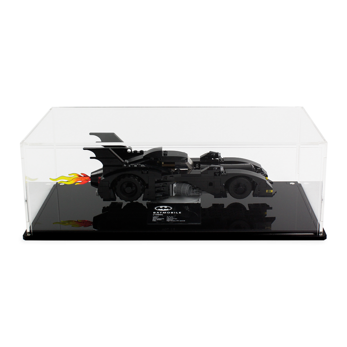 Display case for LEGO DC: Limited Edition Batmobile (40433) - Wicked Brick