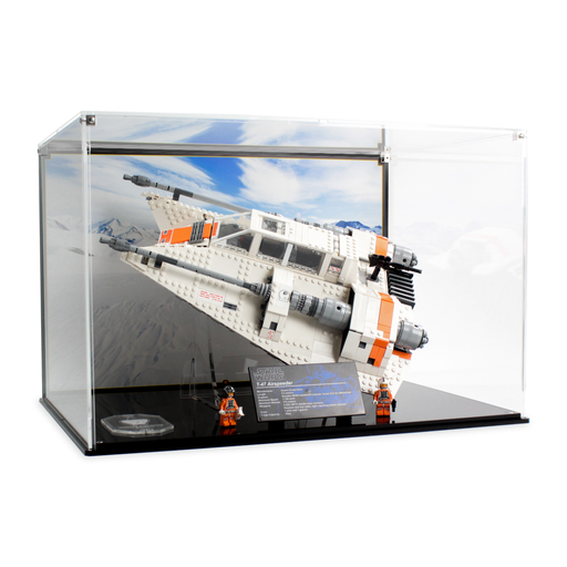 Display case for LEGO Star Wars: UCS Snowspeeder (75144)
