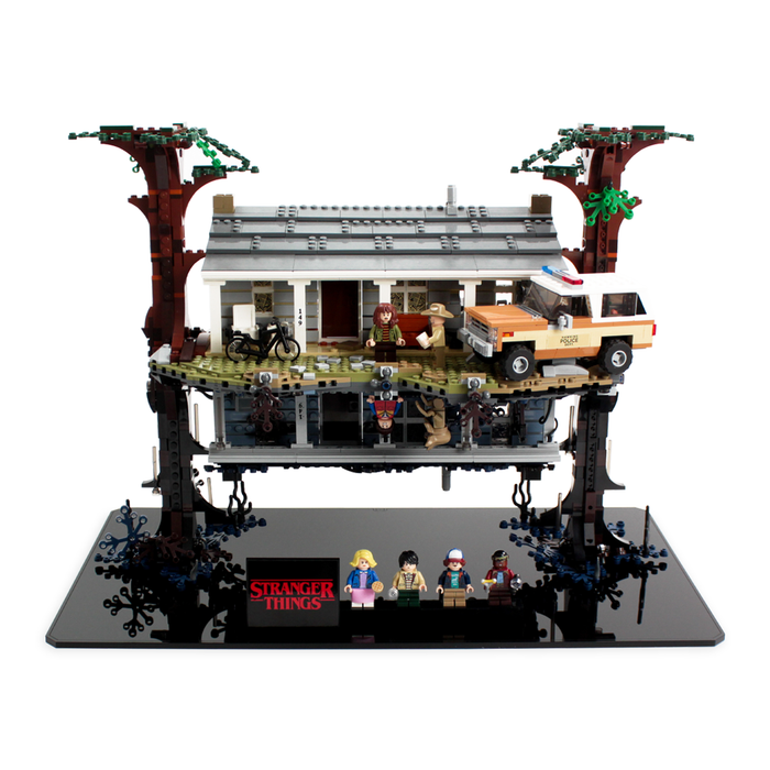 Display stand for Stranger Things: The Upside Down (75810) - Wicked Brick