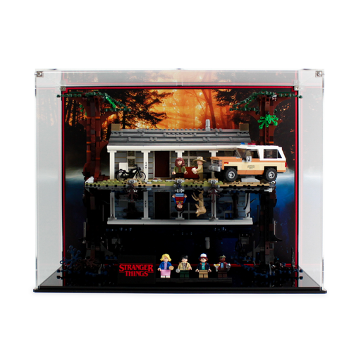 Display case for Stranger Things: The Upside Down (75810) - Wicked Brick