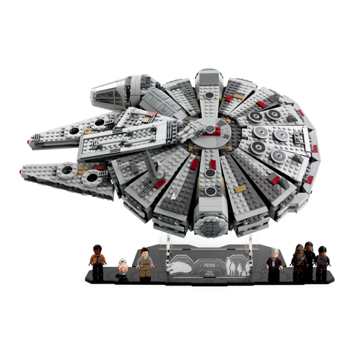 Display stand for LEGO Star Wars: Millennium Falcon (75105) - Wicked Brick