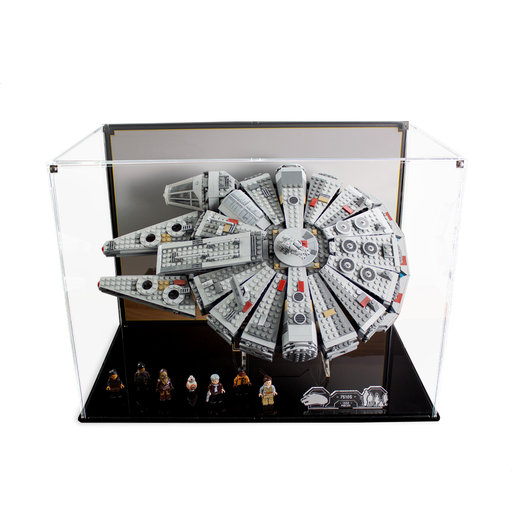 Display case for LEGO Star Wars: Millennium Falcon (75105) - Wicked Brick