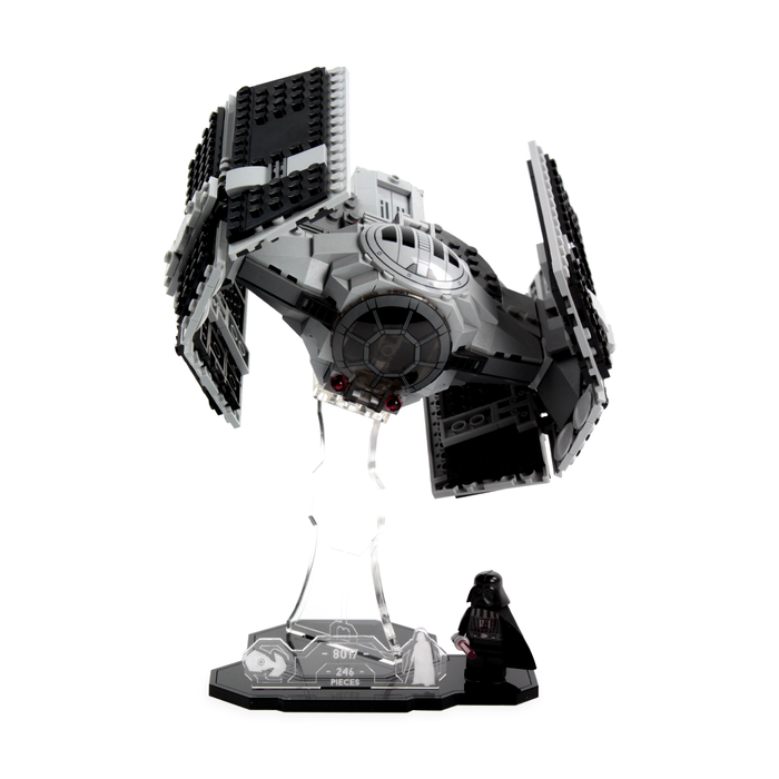 Display solutions for LEGO Star Wars: Darth Vader's TIE Fighter (8017) - Wicked Brick