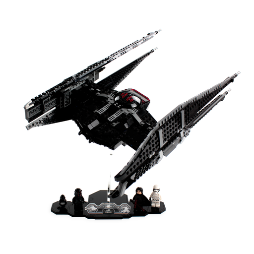 Display solutions for LEGO Star Wars: TIE Silencer (75179) - Wicked Brick