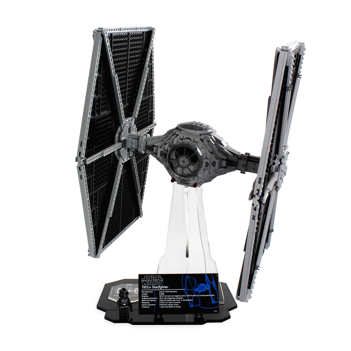 Display stand for LEGO Star Wars: UCS TIE Fighter (75095) - Wicked Brick
