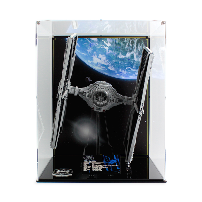 Display cases for LEGO Star Wars: UCS TIE Fighter (75095) - Wicked Brick