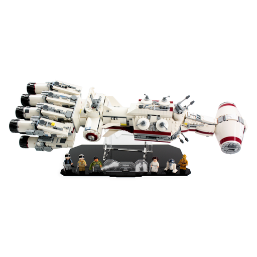 Display stand for LEGO Star Wars: Tantive IV (75244) - Wicked Brick