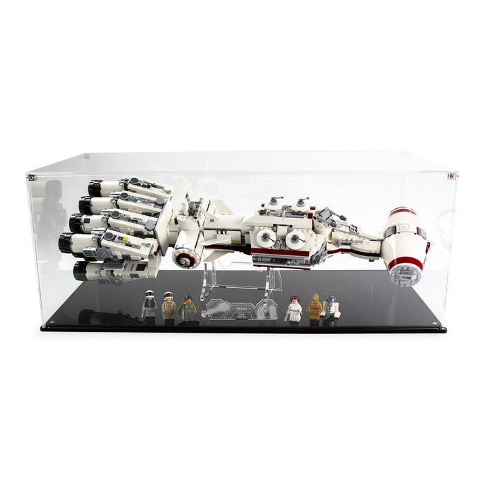 Display case for LEGO Star Wars: Tantive IV (75244) - Wicked Brick