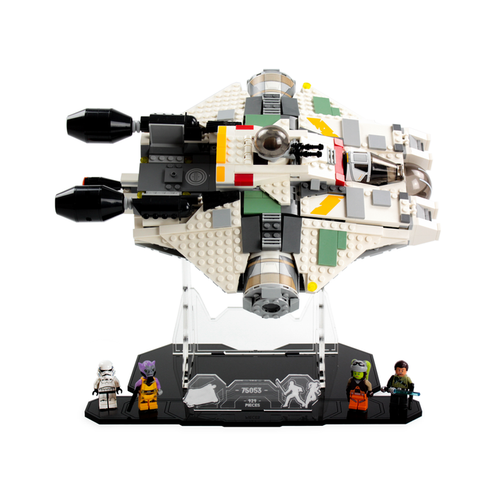 Display solutions for LEGO Star Wars: The Ghost (75053) - Wicked Brick
