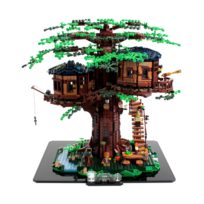 Display base for LEGO Ideas: Tree House (21318) - Wicked Brick