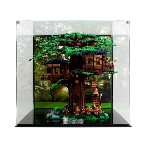 Display case for LEGO Ideas: Tree House (21318) - Wicked Brick