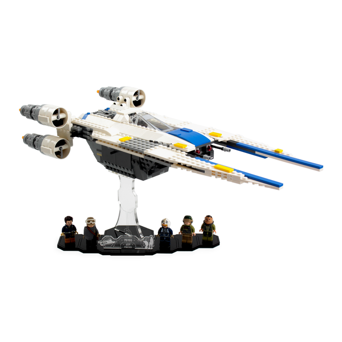 Display solutions for LEGO Star Wars: U-Wing (75155) - Wicked Brick