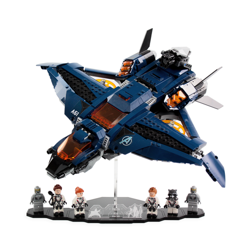 Display solutions for LEGO Marvel: Ultimate Quinjet (76126) - Wicked Brick