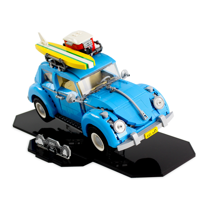 Display stand for LEGO Creator: VW Beetle (10252) - Wicked Brick