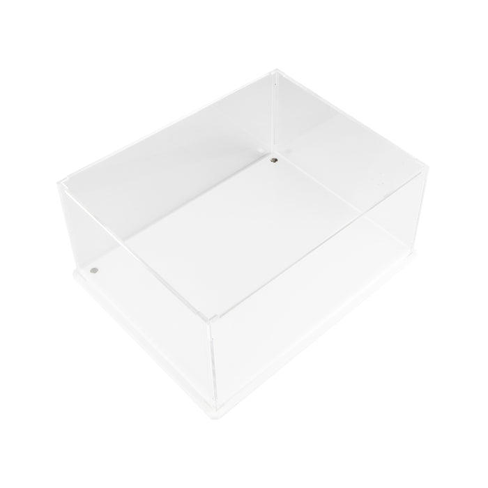 Vario display case (White Edition) - 222mm deep