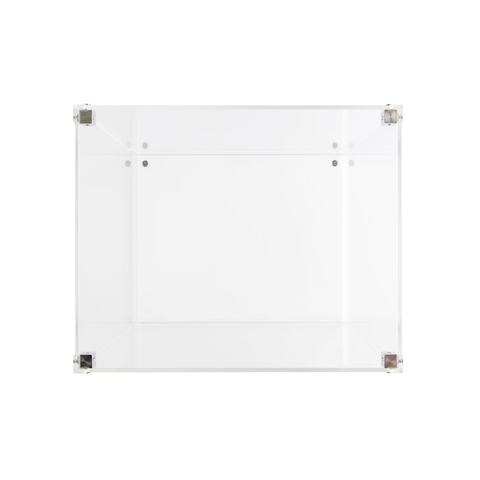 Vario display case (White Edition) - 242mm deep