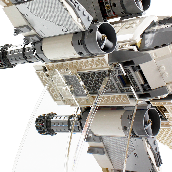 Display stand for LEGO Star Wars: UCS X-Wing (10240) - Wicked Brick