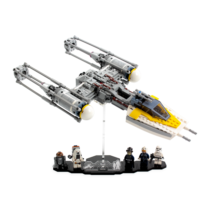 Display solutions for LEGO Star Wars: Y-Wing (75172) - Wicked Brick