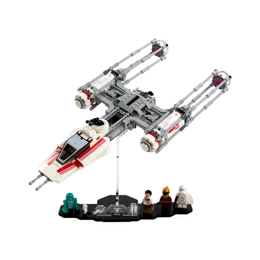 Display solutions for LEGO Star Wars: Resistance Y-Wing (75249) - Wicked Brick