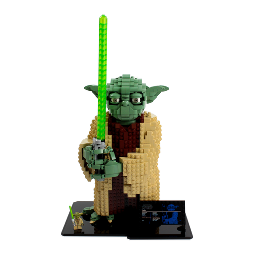 Display base for LEGO Star Wars: Yoda (75255) - Wicked Brick