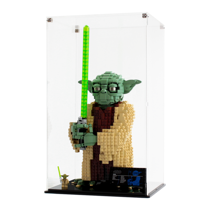 Display case for LEGO Star Wars: Yoda (75255) - Wicked Brick