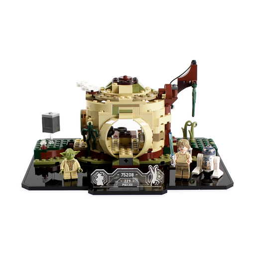 Display stand for LEGO Star Wars: Yoda's Hut (75208) - Wicked Brick
