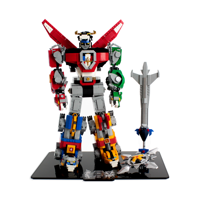 Display stand for LEGO Ideas: Voltron (21311) - Wicked Brick
