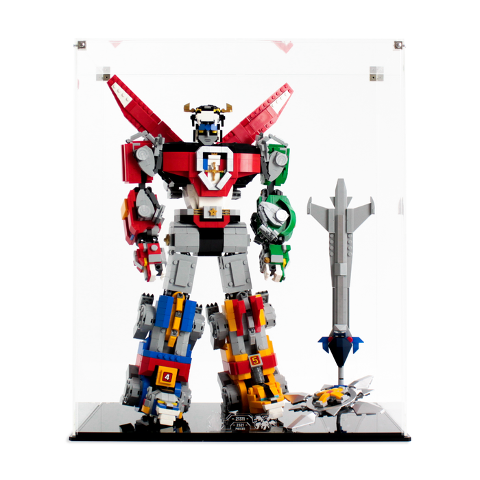 Display case for LEGO Ideas: Voltron (21311) - Wicked Brick