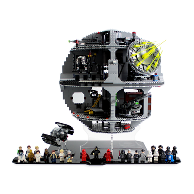 Display stand for LEGO Star Wars: UCS Death Star (75159) - Wicked Brick