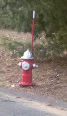Slim Line Hydrant Marker