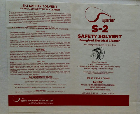 S-2 Safety Solvent