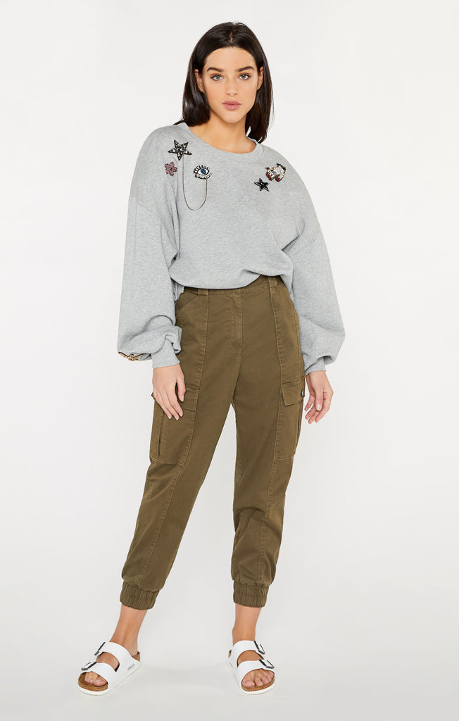 Blaire Patch Pullover