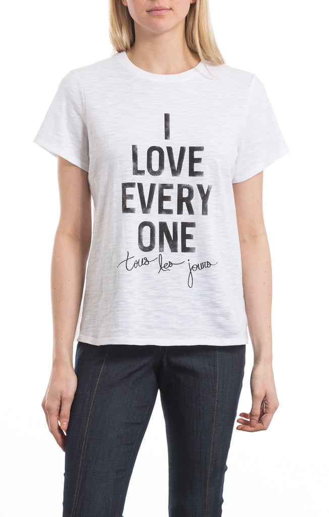 I Love Everyone Tee